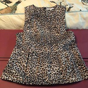 Leopard Peplum Shirt